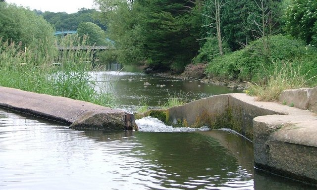 Weir, River Esk