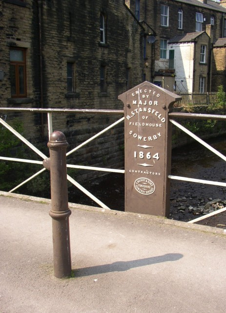 Victoria Bridge, Victoria Road, Sowerby Bridge