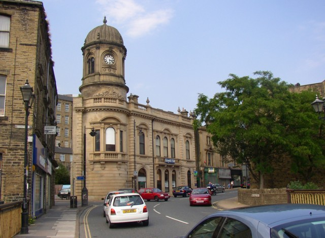 Former Town Hall, Sowerby Bridge