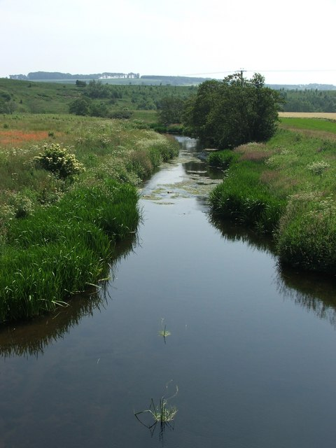 River Aln looking downstream