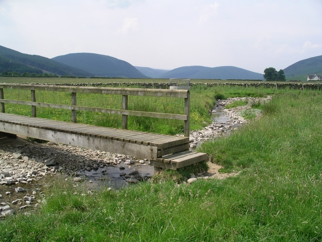 Footbridge, Southern Upland Way
