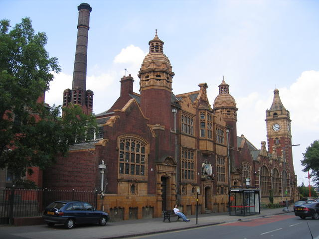 Balsall Heath Public Baths and Free Library