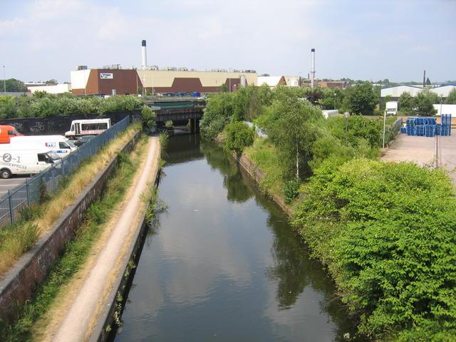 Grand Union Canal, Saltley