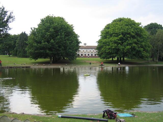 Rowheath Pavilion and fishing Lake