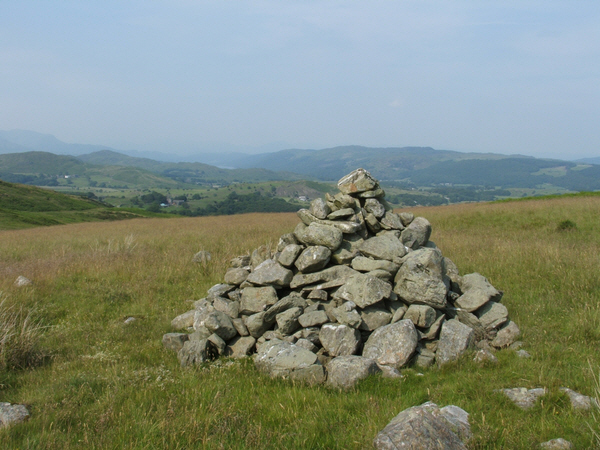 Cairn below Great Burney
