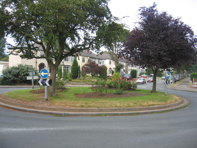 World's End Lane Roundabout