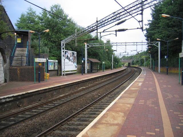 Smethwick Rolfe Street Station