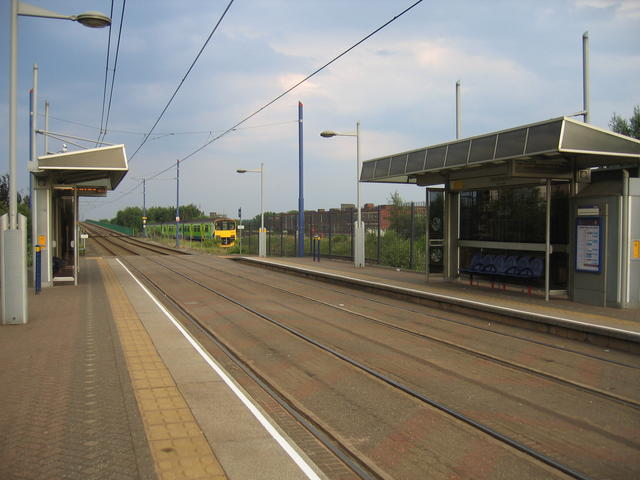 Midlands Metro at Handsworth