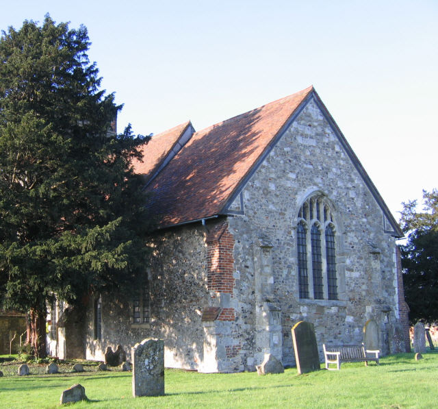 St Mary's church, Burham Court