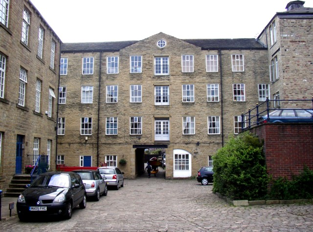 Sowerby Bridge Mills from the east