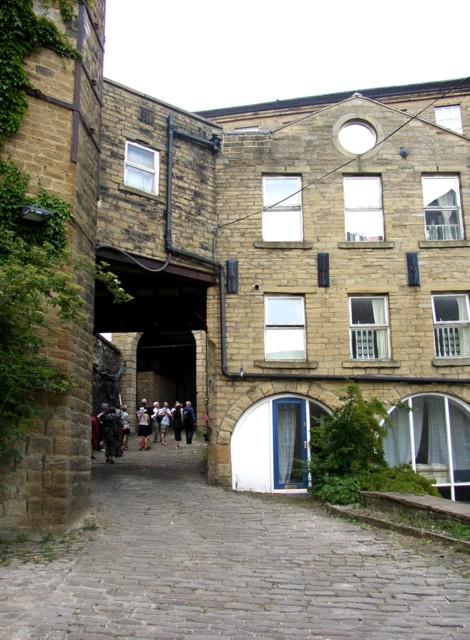 Former boiler-house of Carlton Mill, Sowerby Bridge