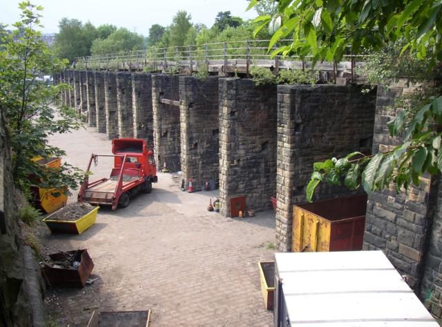 Coal drops, Station Road, Sowerby Bridge