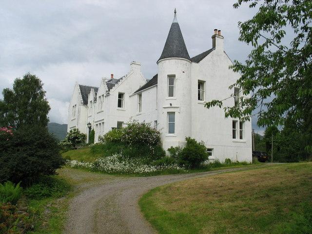 Muckairn Castle near to Taynuilt.