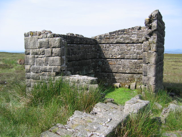 Stanage End - Ruin