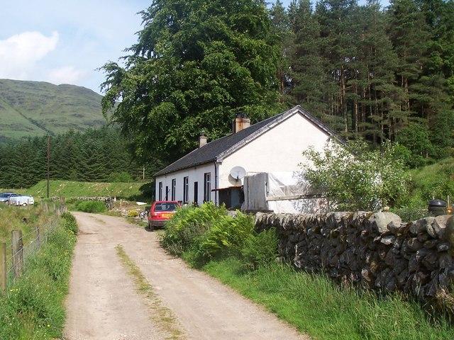 Glen Massan, Glenmassan Farmhouse