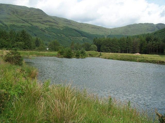 Glen Massan, Loch near Garrachra Farm