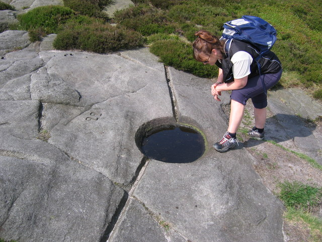 Water Trough - Stanage Edge