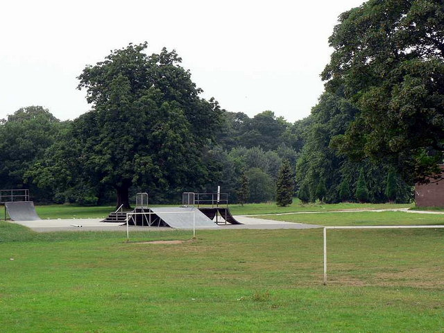 Skateboard Park, Horsforth Hall Park