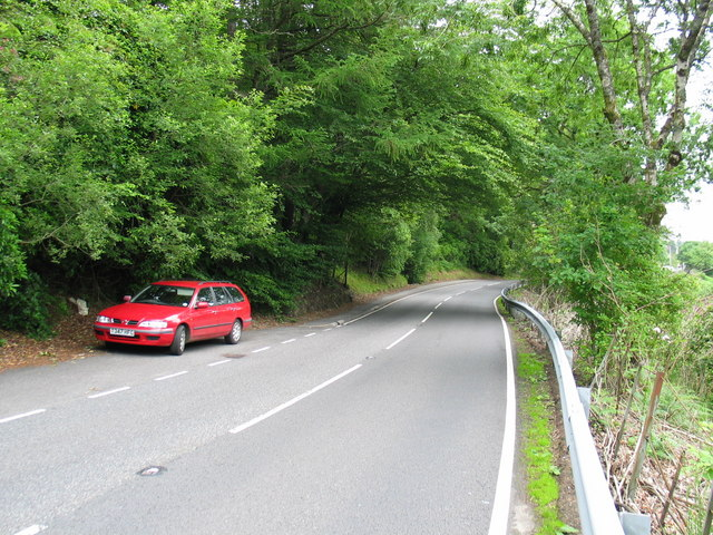 Roadside layby by Lochawe village.