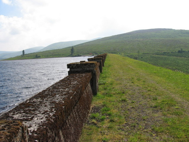 Daer Reservoir Dam