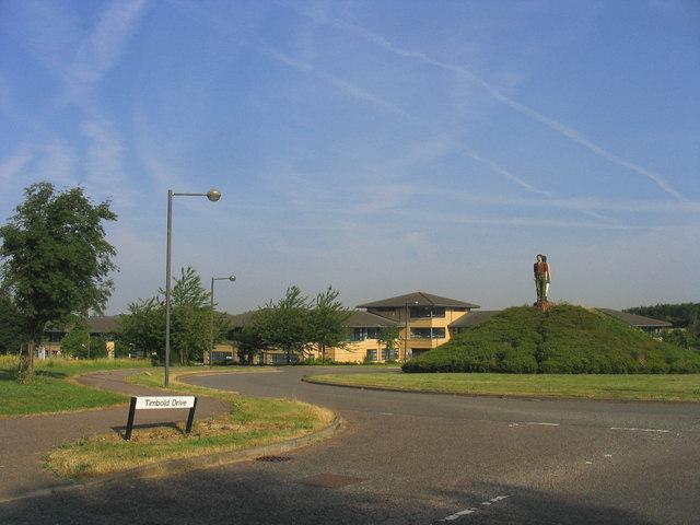 Timbold Roundabout, Milton Keynes