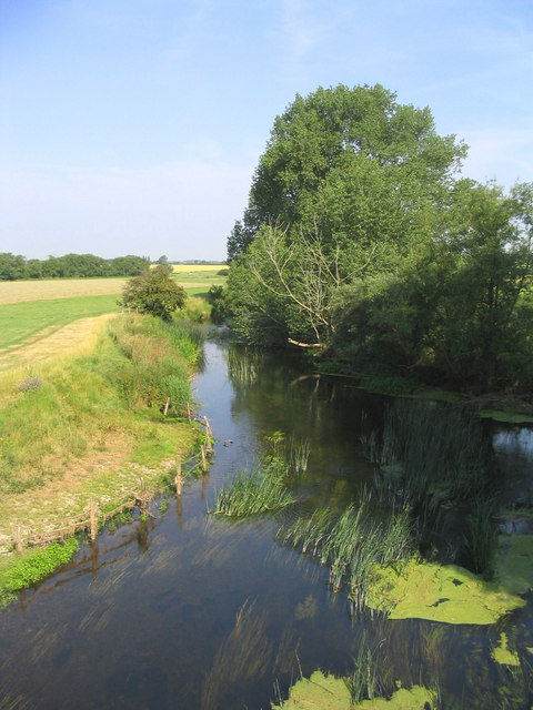 Great Ouse River at Sherington Bridge