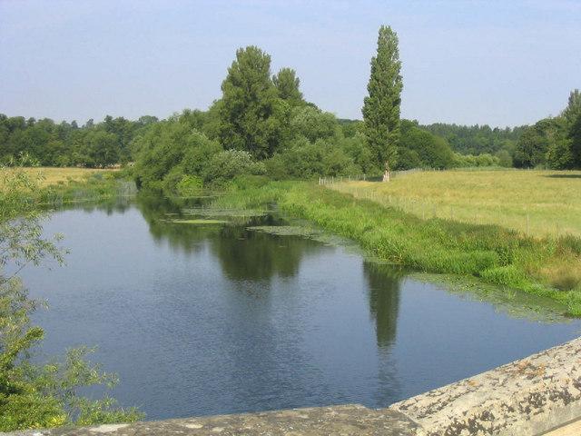 From Tyringham Bridge