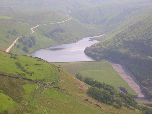 Blakeley Reservoir and dam