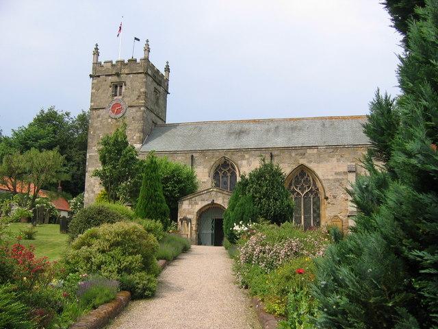 All Saints church, Hunmanby
