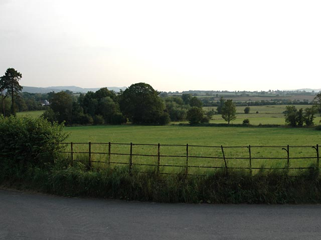 Towards Hall Farm and Rea Brook