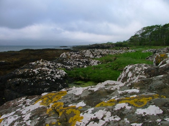 Shore Below Kellan Wood (SW View)