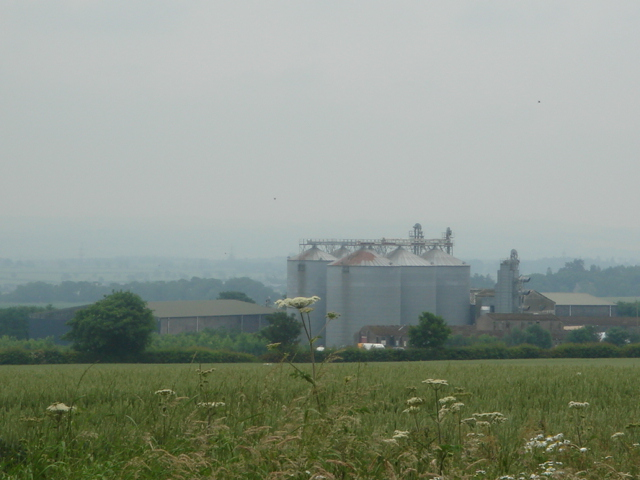 Grain dryer at Charterhall