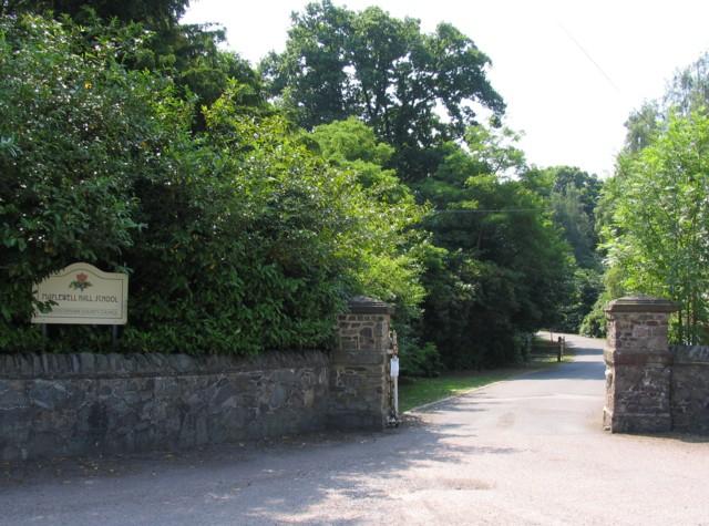Maplewell Hall School Driveway