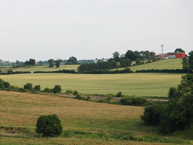 View to Chapel Field and Whitley Grange