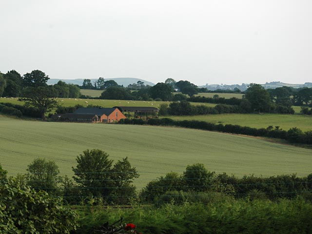 View to Panson Farm