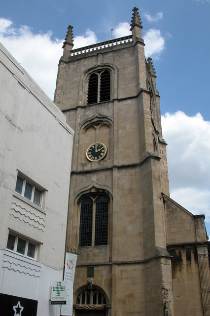St Swithun church, Worcester