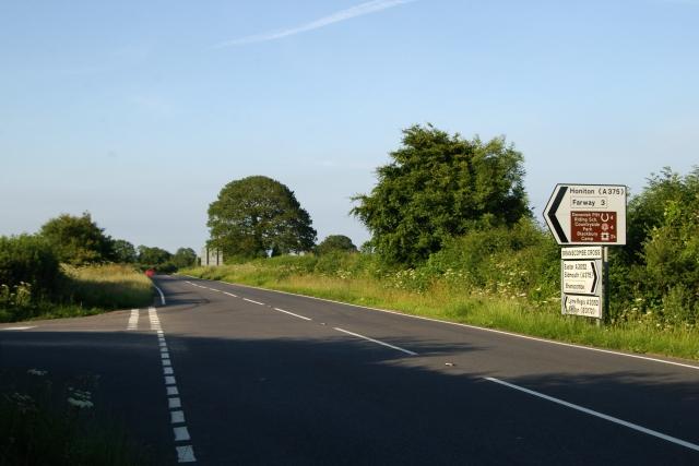Branscombe Cross, A3052