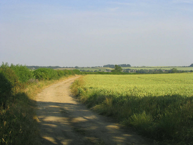 The track to Woolwich Barn