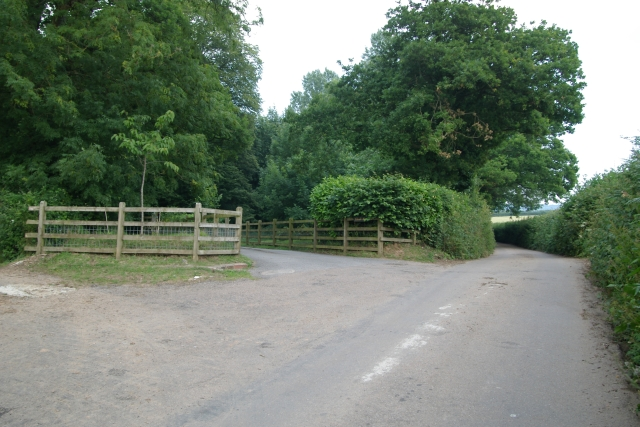 Entrance to Holcombe Manor