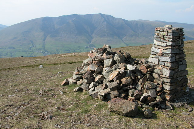 Trig Point on the Summit of Clough Head