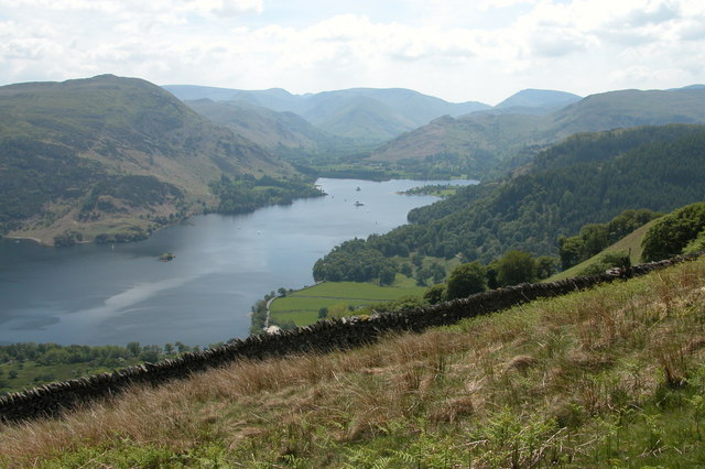 Ullswater viewed from Common Fell