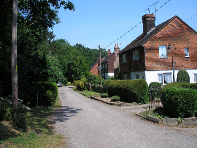 Houses on Greybury Lane, Marsh Green, Kent