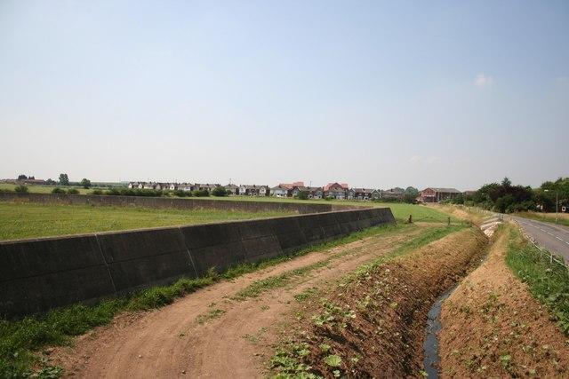 Misterton flood defences