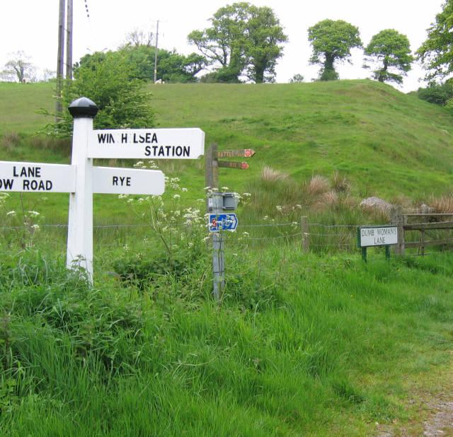 Dumb Woman's Lane, Winchelsea