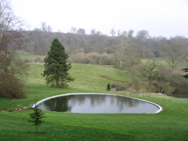 Pond at Chartwell