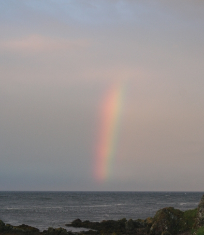 Rainbow over Yellow Craig