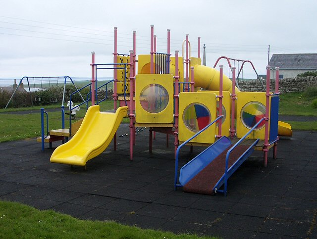 Playground on Stronsay