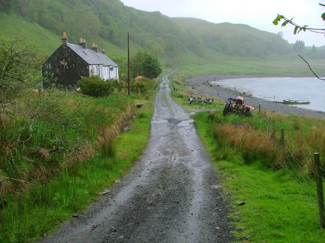 Cottages and Track, The Little Horse Shoe