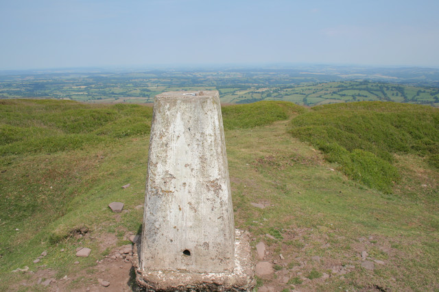 Trig point, Hatterrall Ridge