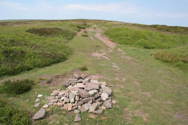 Offa's Dyke footpath, Hatterall Ridge